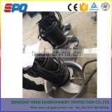 Submersible sand slurry pump with agitator