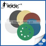 BKH Brand 320 grit aluminum oxide hook and loop fastener sanding discs for wood                                                                         Quality Choice