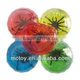 HOT Crystal diamond Gemstone Spider frog fish lizard insect red yellow blue green pink purple Putty slime toy