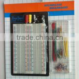 ZY-204+J 1660 tie-points with jumper wire cable kit solderless breadboard