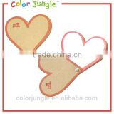 Heart shaped memo pad,custom memo sticky notepad