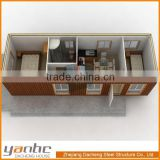 ISO9001 Prefabricated Modular Luxury Container homes