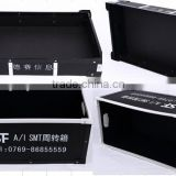 Blue PP Esd Corrugated Box With Inserted Grid,Antistatic Tray Anti-Static Bin Box ESD Component Box
