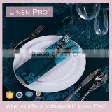 LinenPro Washable Airplane Home Restaurant Use Hand Hemstitch Linen Napkins