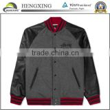 custom high quality wool jacket/ leather jacket/winter jacket                                                                         Quality Choice