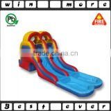 fun inflatable small pool water slide n climbing dual lane, big inflatable water slides for kids n adults