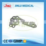ISO 13485 Approved Distal Femur Lateral Condyle Locking Plate, Femur Titanium LCP, Orthopedic Implant Femur Plate