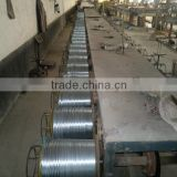 Electro / hot dip galvanized steel wire for machine ( with ISO9001 and SGS )