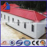 China qualified prefab house made by steel structure and sandwich panels for office warehouse factory dorm workshop