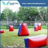 China professional Inflatable paintball field , paintball bunker set