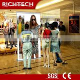 Projector screen stand Richtech floor standing projector screens for outdoor advertising