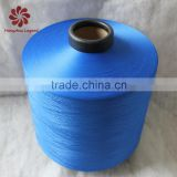 hangzhou china supplier dty 300D/96F polyester yarn semi-dull from 75D-600D in different colors
