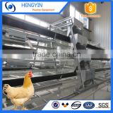 Used poultry equipment full automatic A type chicken cage /poultry battery cage for sale