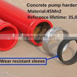 5'' concrete pump delivery pipe Schwing /putzmeister/Sany concrete pump spare parts supplier