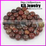 KJL-A0177 high quality Natural mahagony stone round beads ,10mm charm agate jewelry beads for bracelet and necklace making