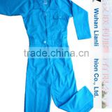 manufacture china high quality protective cotton custom-made safety workwear uniform overalls for mining