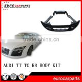 TT-R8 Body Kit bumpers fit for TT car replacement 2 doors