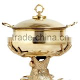 Economy Buffet Chaffing Dish for sale/indian brass chaffing dish/buffet restaurant serving dish