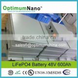 Lithium Iron Phosphate 48V 600Ah Battery