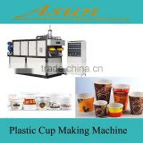 Disposable Plastic Glass Equipments /Disposable Snack And Plastic Cup Extruder Machinery