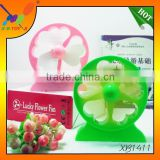 High quality USB cooling Lucky Flower desk fan for notebook, Summer gift,USB table Fan