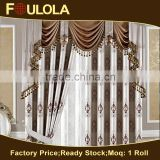 Hot Selling Good Quality Jacquard Blackout Valance Swag Curtains