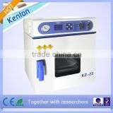 23L mini vacuum chamber KZ-23 durable drying oven for lab machine( pointer display and stainless steel inner )