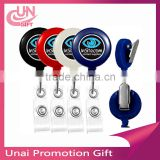Retractable Badge Reel With PVC Card Holder For School Student Yoyo Retractable Badge Reel
