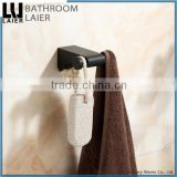 Promotional Luxury Bathroom Desig Zninc Alloy ORB Bathroom Sanitary Items Wall Mounted Double Robe Hook