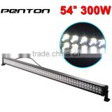 "Penton 52 Inch waterproof offroad 52"" 300w high lumen led light affordable led work light bar- China manufacturer"