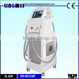 High quality 3 in 1 permanent opt ssr skin tightening ipl shr hair removal machine for beauty salon spa clinic use equipment