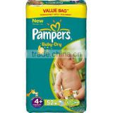 PAMPERS 52szt Baby Dry S4 Diappers FMCG hot offer