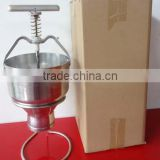 Stainless steel automatic industrial mini jam donut machine made in china new product HJ-CM010