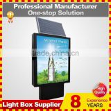 outdoor aluminium or steel frame led display light box