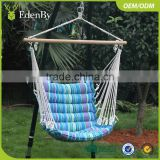 Outdoor furniture patio swing hanging chair swing hammock Outdoor swing sets patio rattan egg hanging chair with cushion