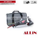 First Rate high quality 18V Li-ion professional cordless reciprocating saw