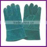 Green Chrome Leather Welding Glove/Working Glove ZMR372