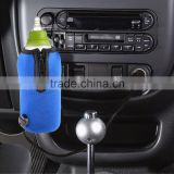 12V Car Bottle Warmer Drink Coffee Food Milk Heater For Baby Kids Blue Mini Linear Temperature Programmer Bag (Blue)