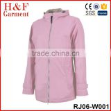 Nylon Rain Jacket Ladies Jacket 100% Waterproof Waterproof Raincoat Fashion Raincoat