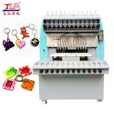 automatic Multicolor pvc key chain making equipment