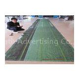 Outdoor / Indoor PVC Vinyl Banners With Velcro Hanger Uv Ink Printing