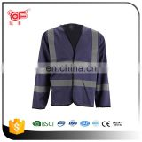 Hot sale for safety reflective red jacket with OEM design KF-063B