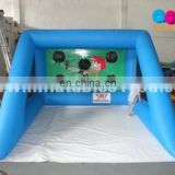 2015 HOT portable inflatable football goal for sale