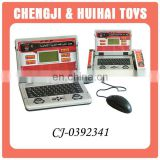 Electronic toy english and arabic kids laptop learning machine