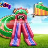 Gragon Monster Inflatable Water Park Slides For water park