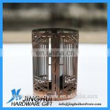 Customize Carved Metal Mesh candle holder