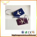 Popular aircraft aluminum alloy luggage tag