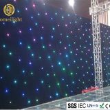 RGB skylighting star curtain for wedding backdrop led star curtain
