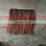 Horse hair wefts and tails for rocking horse mane hair