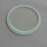 8-15mm tempered stepped glass for Led Indoor Lighting 24inch Diameter LED Flat Panel Light